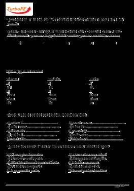 Exercices sur le passé composé, CM1 | Exercices passé composé, Passé composé cm1 et Passé composé