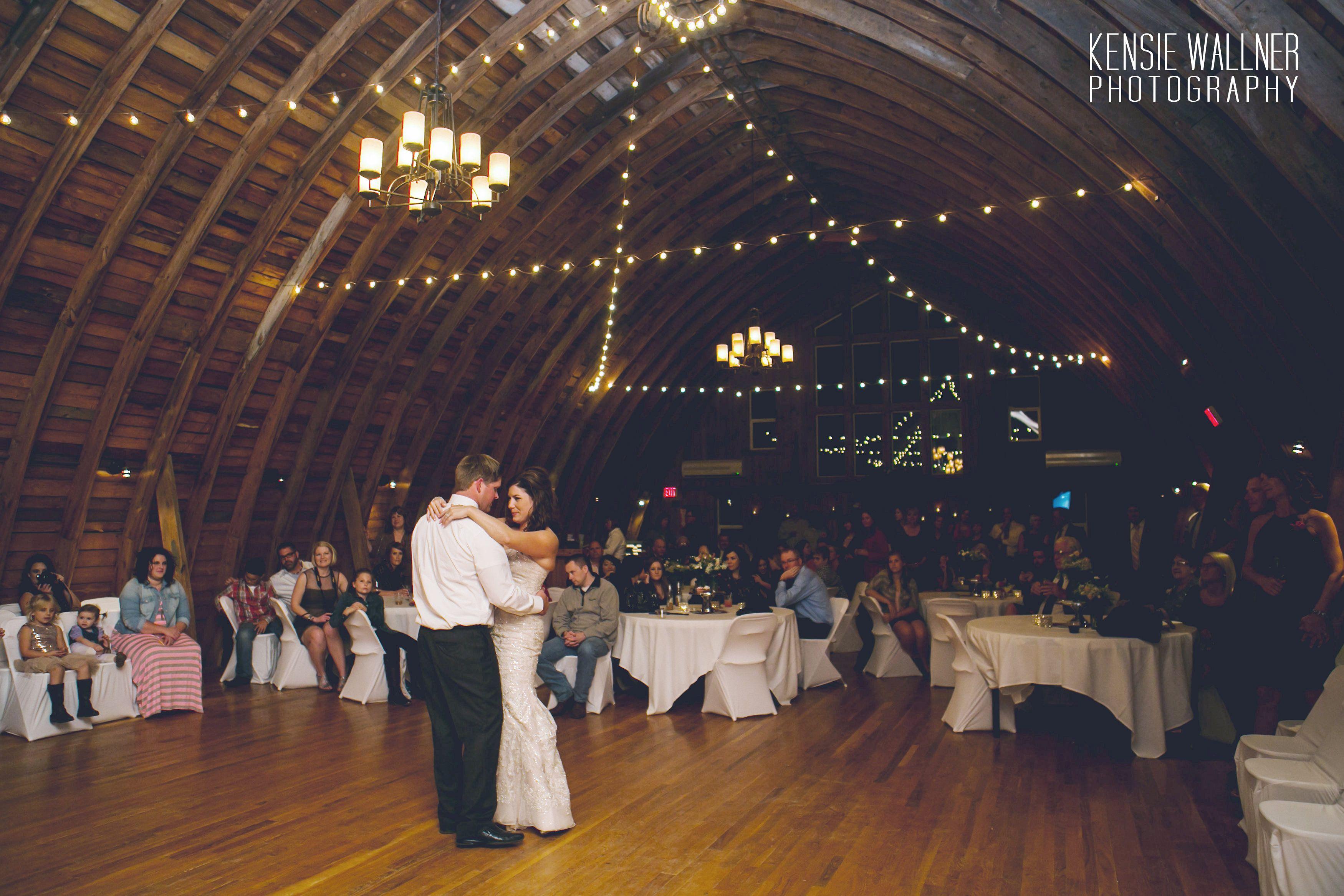 Kari & Blake's wedding at The Barn at Five Lakes Resort
