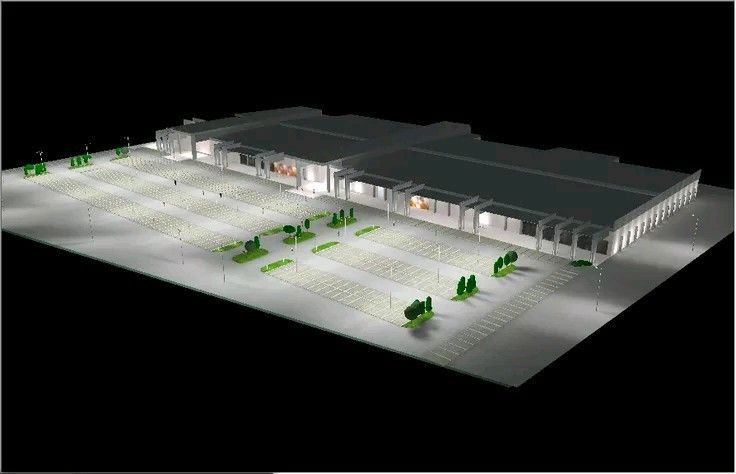 Exterior Facade Lighting Design Proposal For The Onitsha Mall I