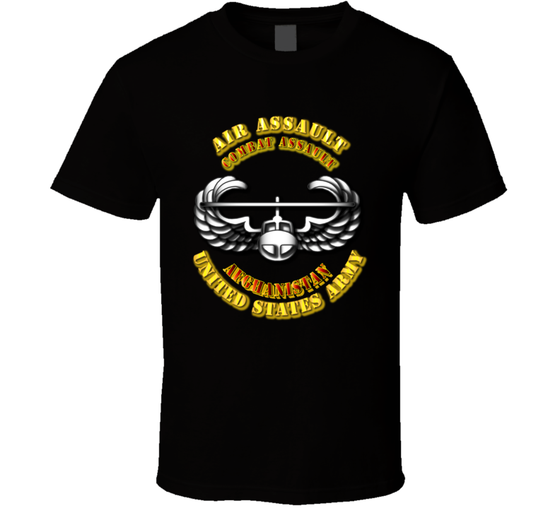 Air Assault - Combat - Afghanistan T Shirt