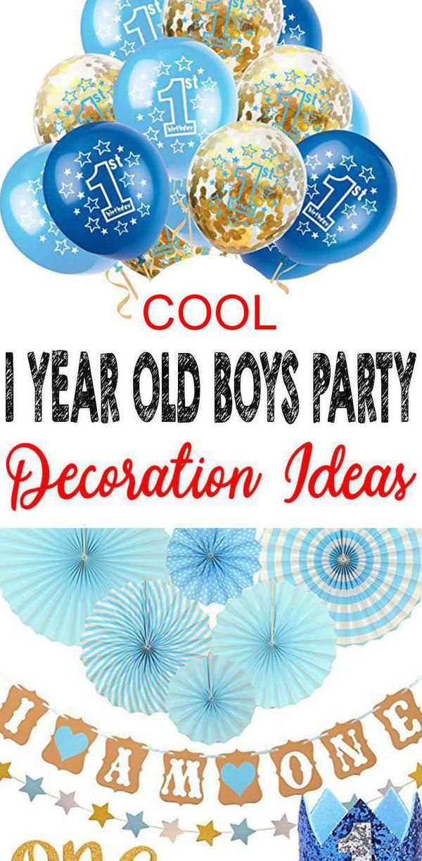 Find Amazing Year Old Boys Party Decorations Make An Awesome With These Are Great Way To