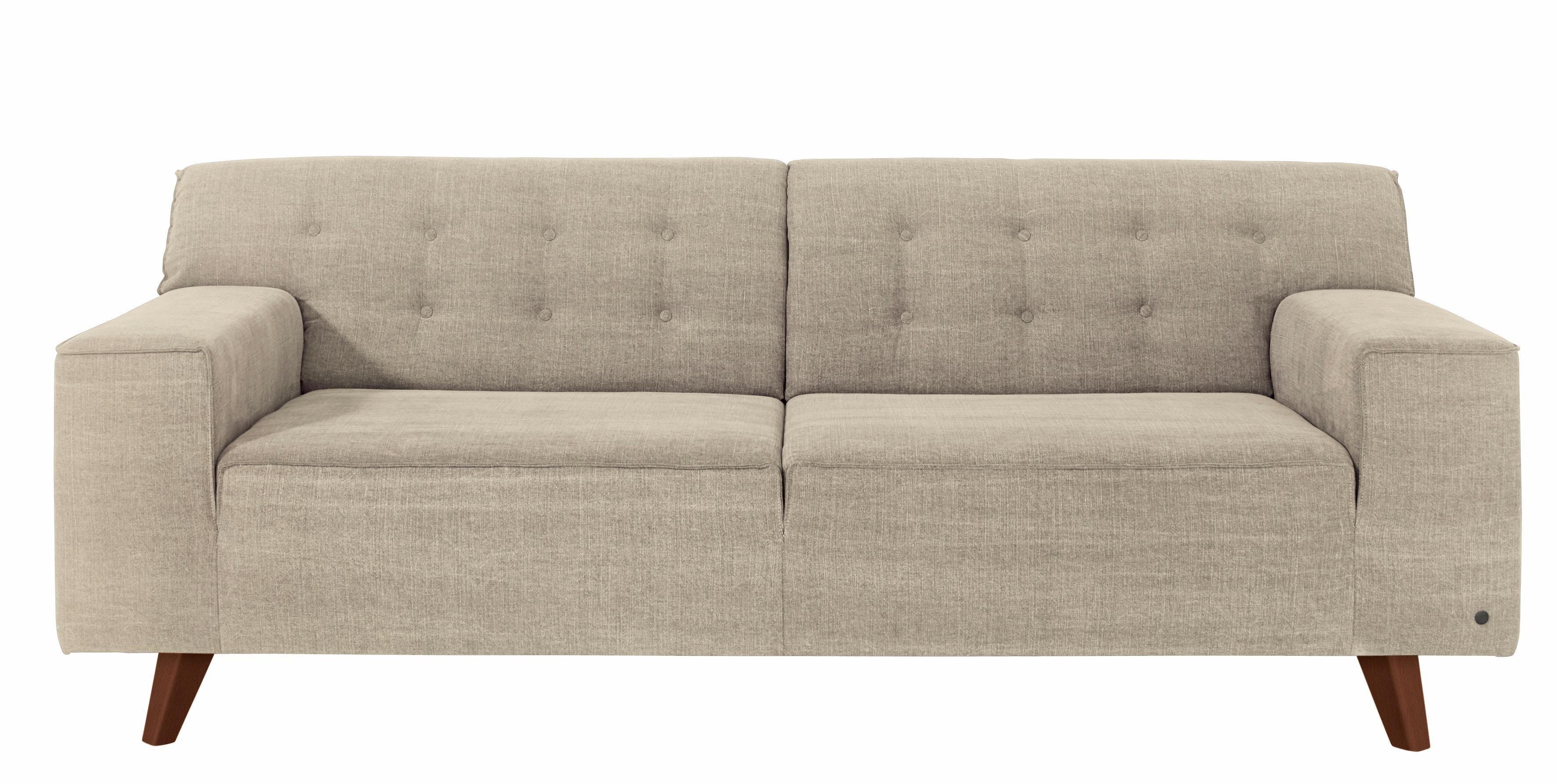 Tom Tailor 2 5 Sitzer Nordic Chic Im Retrolook Fusse Nussbaumfarben Kaufen Toms Design 2 Sitzer Sofa