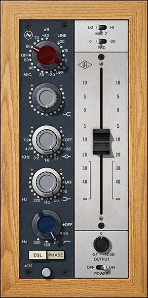 Neve 1073 Preamp Eq Collection Uad Audio Plugins Universal Audio Plugs Audio Studio Equipment