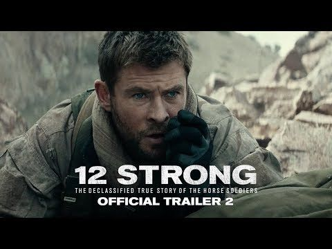 12 STRONG (2018) Official Trailer 2 - On our darkest day, they were our greatest hope. Watch the new trailer for #12StrongMovie. — Chris Hemsworth and Oscar nominee, Michael Shannon, star in 12 STRONG, a powerful new war drama. -- Set in the harrowing days following 9/11, a U.S. Special Forces team, led by their new Captain, Mitch Nelson (Chris Hemsworth), is chosen to be the first U.S. troops sent into Afghanistan for an extremely dangerous mission... | Warner Bros. Pictures