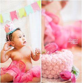 Cake smash time | Evidence Photography and Design | Seattle Family Photography