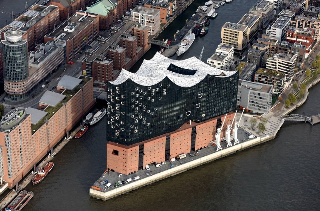 These Will Be The Most Talked About New Buildings Of 2017 Concert Hall Hamburg Elbphilharmonie Concert Hall