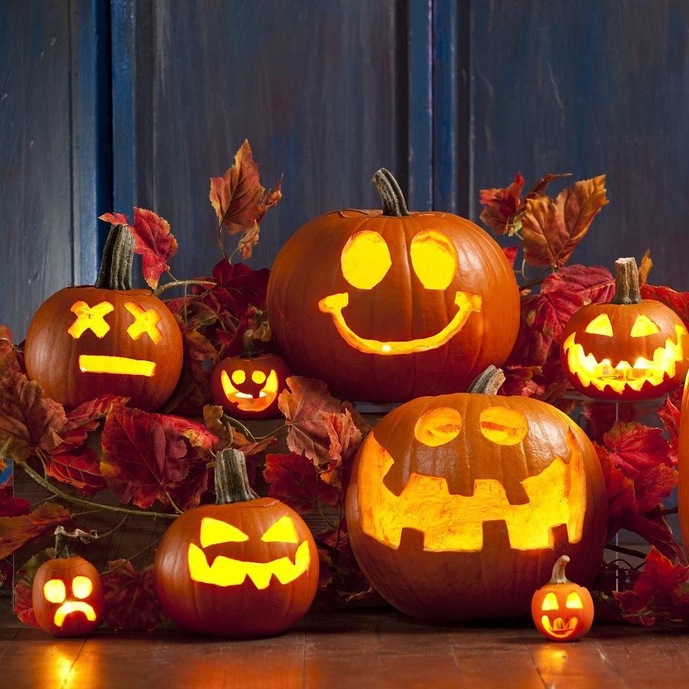 Comment sculpter une citrouille elle table halloween and autumn citrouille halloween - Citrouille effrayante ...
