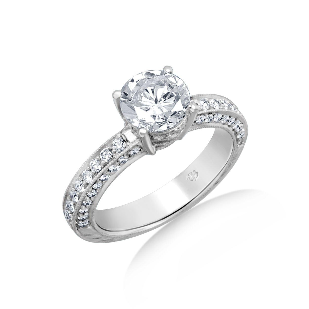 Chicago Bridal Marshall Pierce Company Jack Kelege Diamond