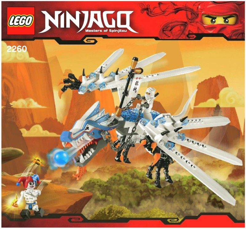 Ninjago ice dragon attack lego 2260 games lego pinterest ice dragon lego and dragons - Dragon ninjago lego ...