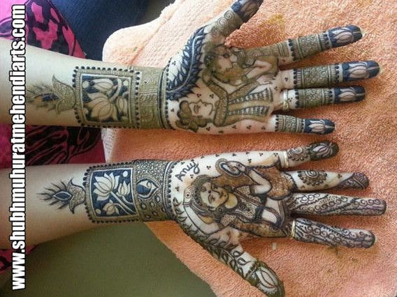gorgeous mehndi designs on indian brides full hands and legs by henna artist http www. Black Bedroom Furniture Sets. Home Design Ideas