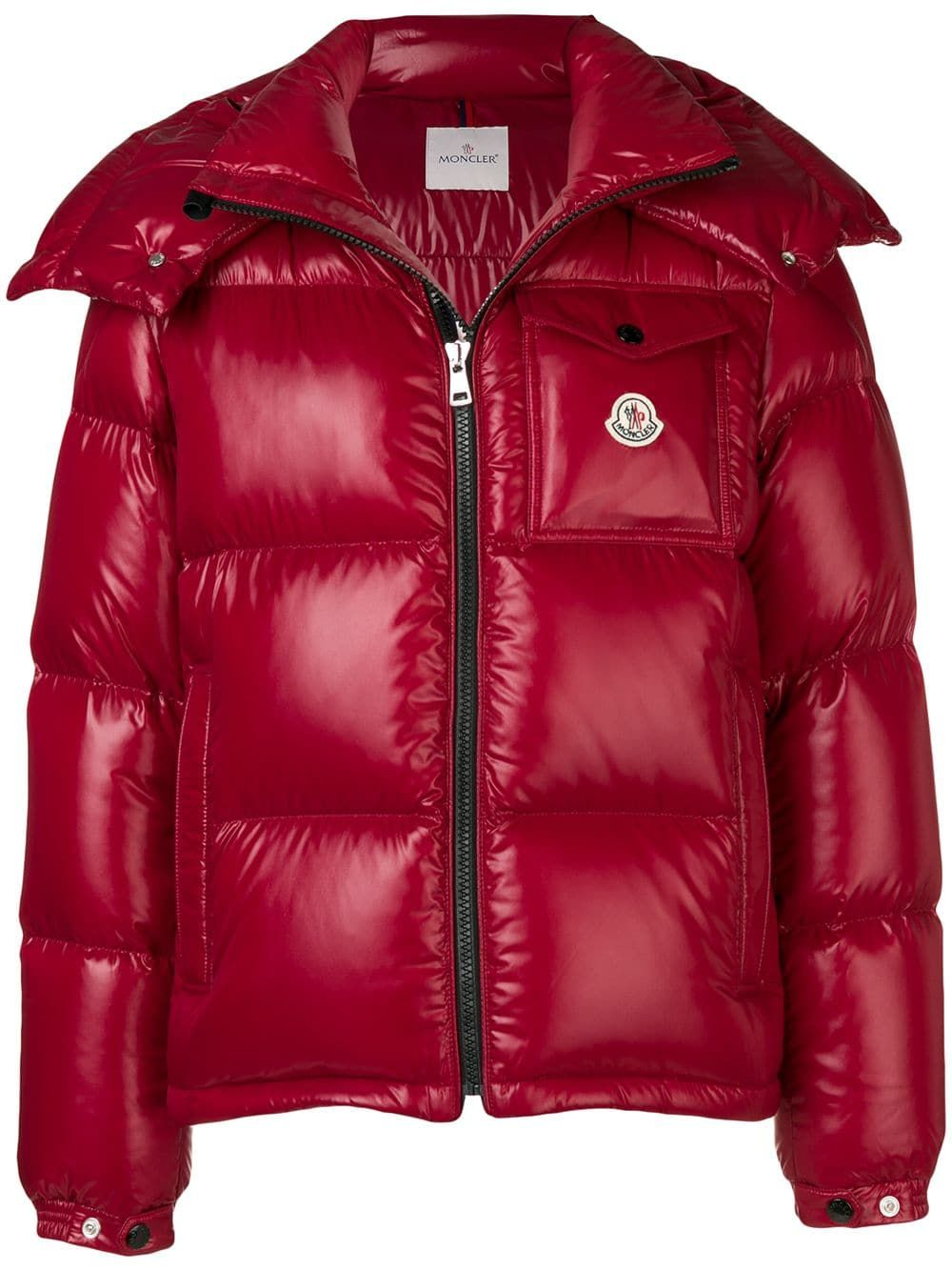 6fe9eda99f36 MONCLER MONCLER MONTBELIARD PADDED JACKET - RED.  moncler  cloth ...