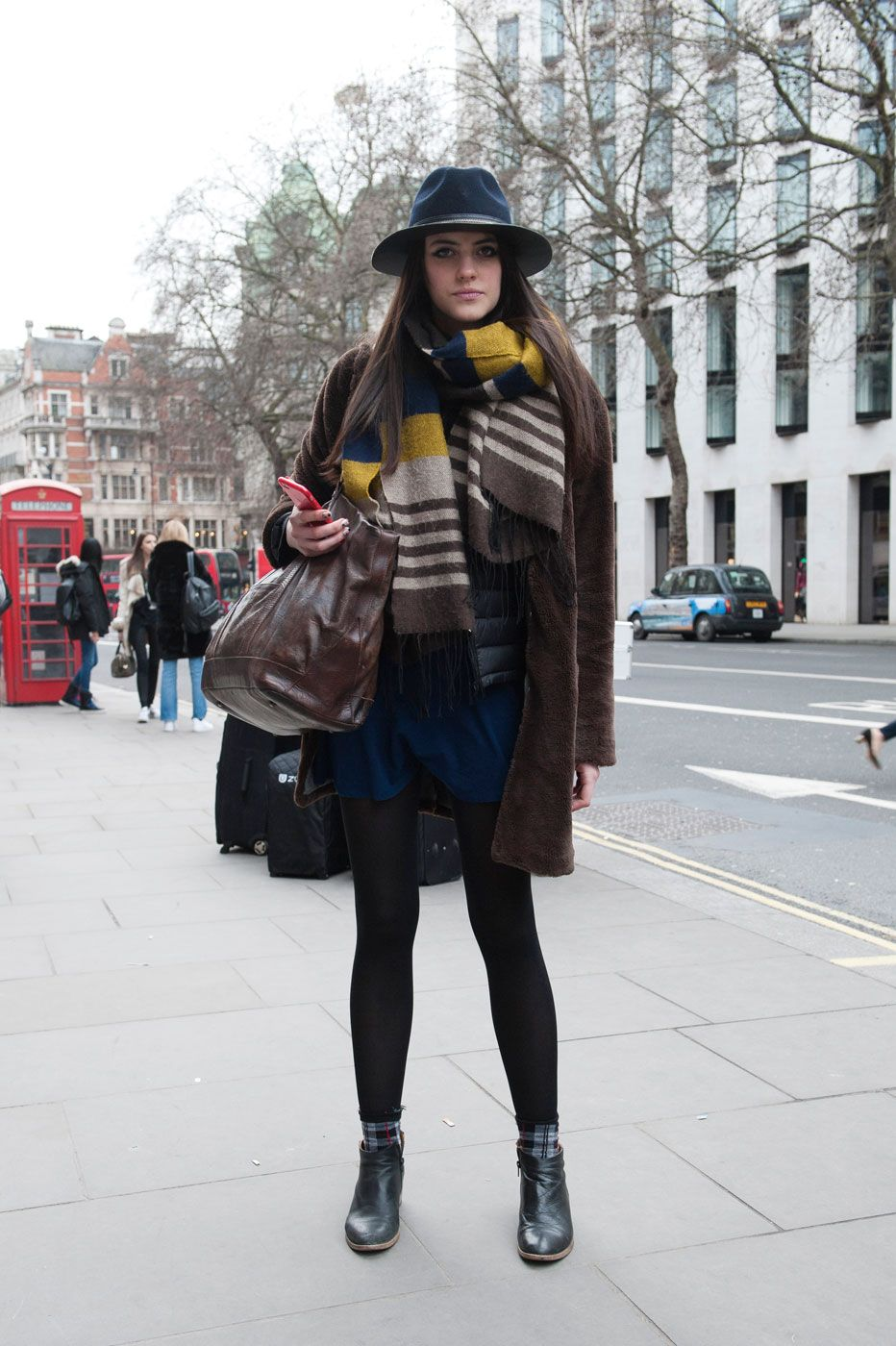 Street Style From London Fashion Week Fall 2015 | StyleCaster
