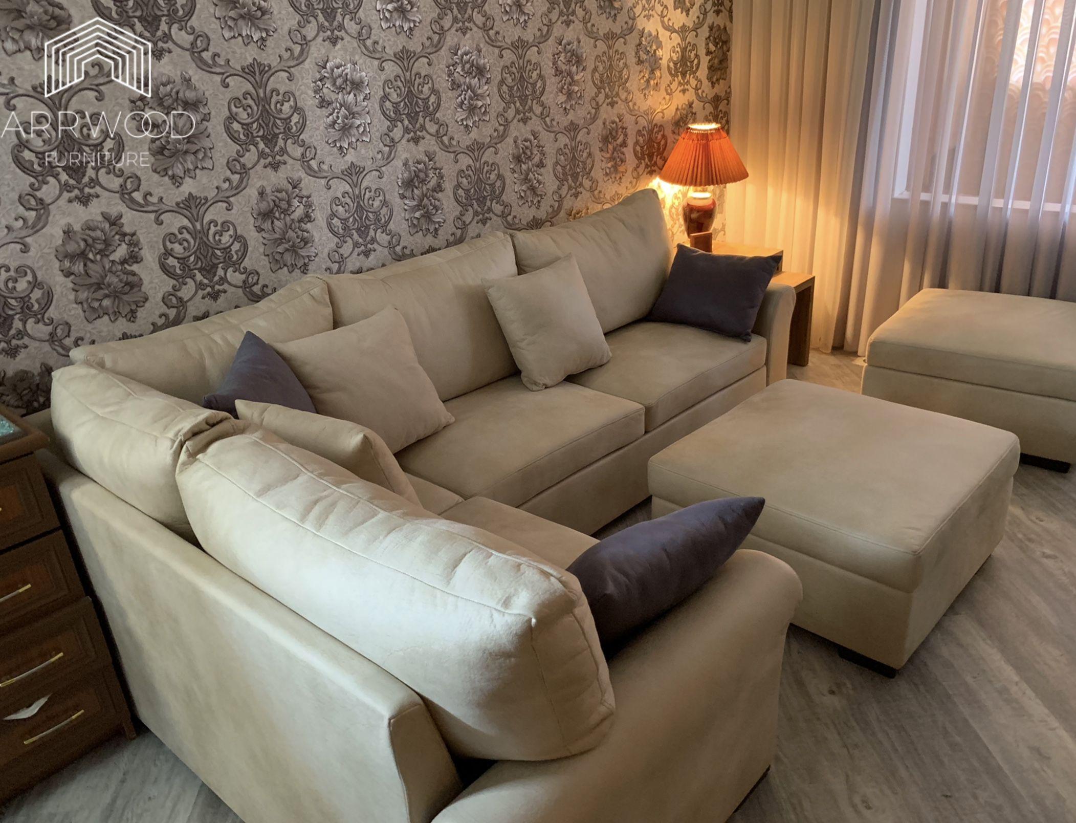 Sofa for living room #sofadesign #modernsofa #livingroom #livingroomdesigns #madeinarmenia #arrwood #furniture