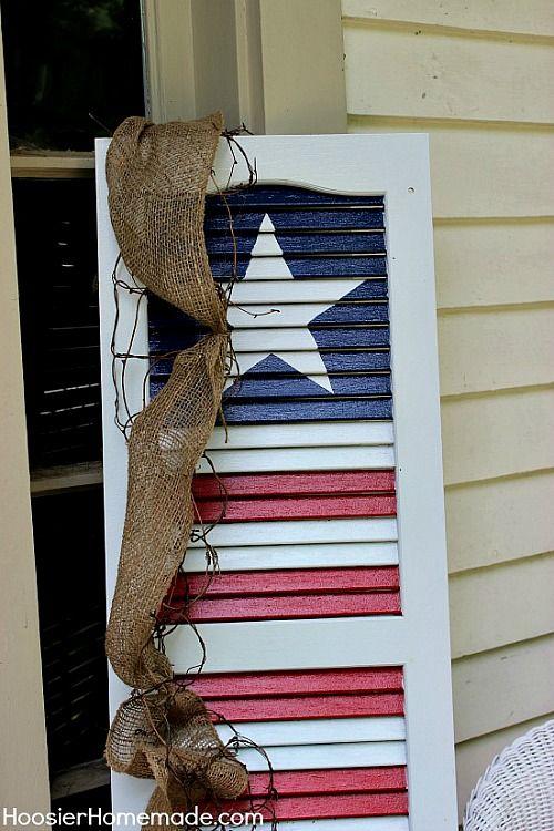 Patriotic Outdoor Decorations 4th Of