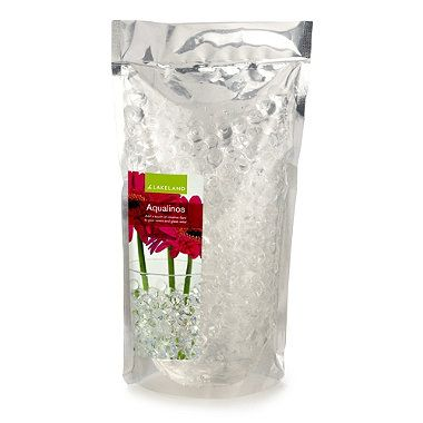 Clear Aqualinos Gel Beads - From Lakeland