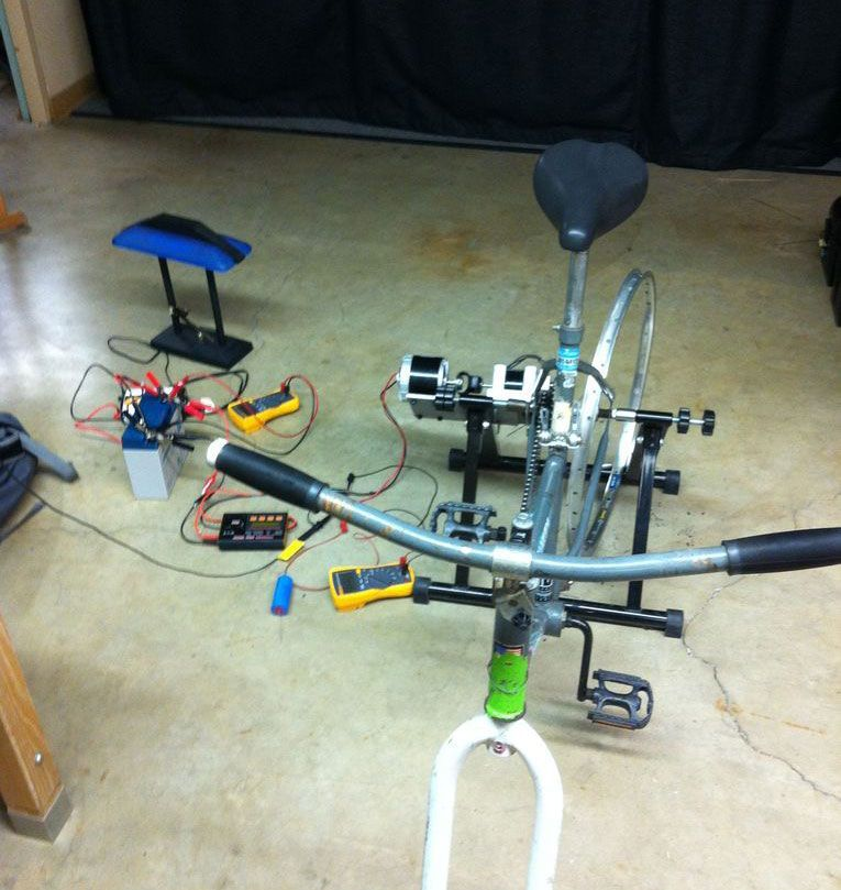 Make A Bicycle Powered Generator In 9 Steps Power Generator