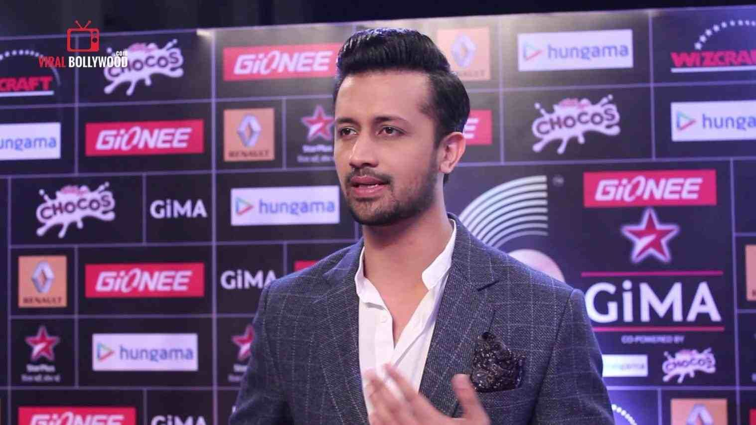 atif aslam hairstyle in gima awards | hair stylist and