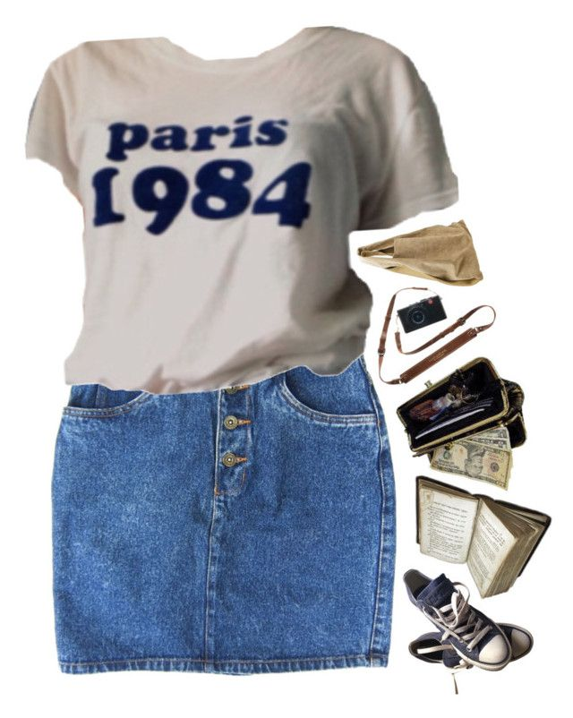 """""""Untitled #263"""" by waliflower ❤ liked on Polyvore featuring AmeriLeather, Alexander Wang and Converse"""