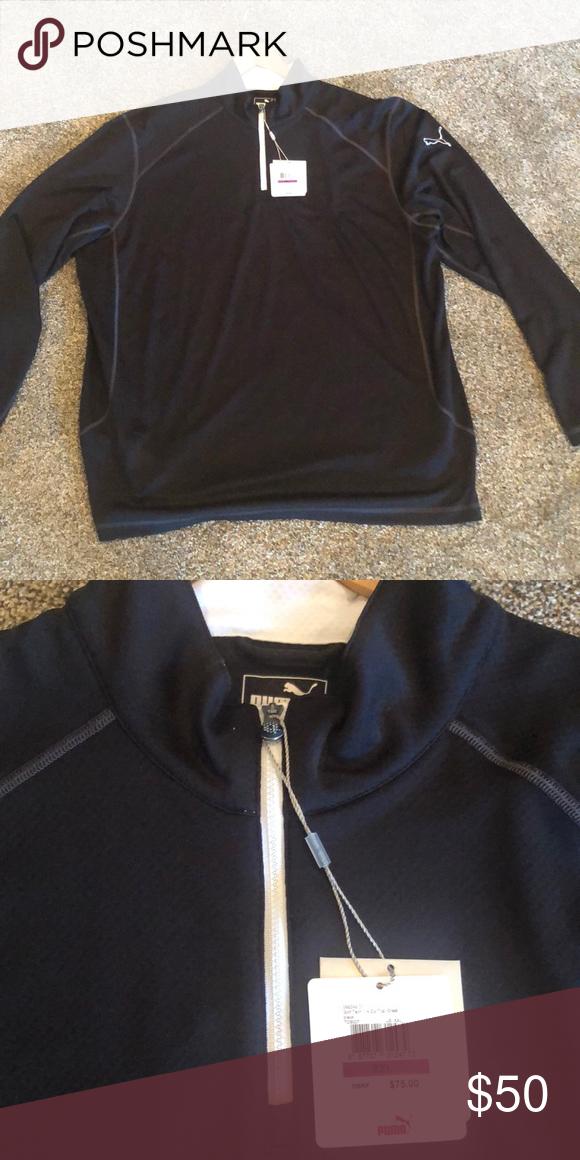 1e5393106114 Puma 1 4 Zip Pullover Brand new Puma 1 4 zip pullover Puma Jackets   Coats  Lightweight   Shirt Jackets