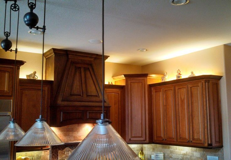 Installed Led Upper Cabinet Lighting In Customers Home Call