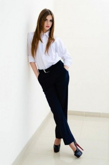 d536d69b9516 Cómo vestir para una entrevista de trabajo: fotos de los modelos ...