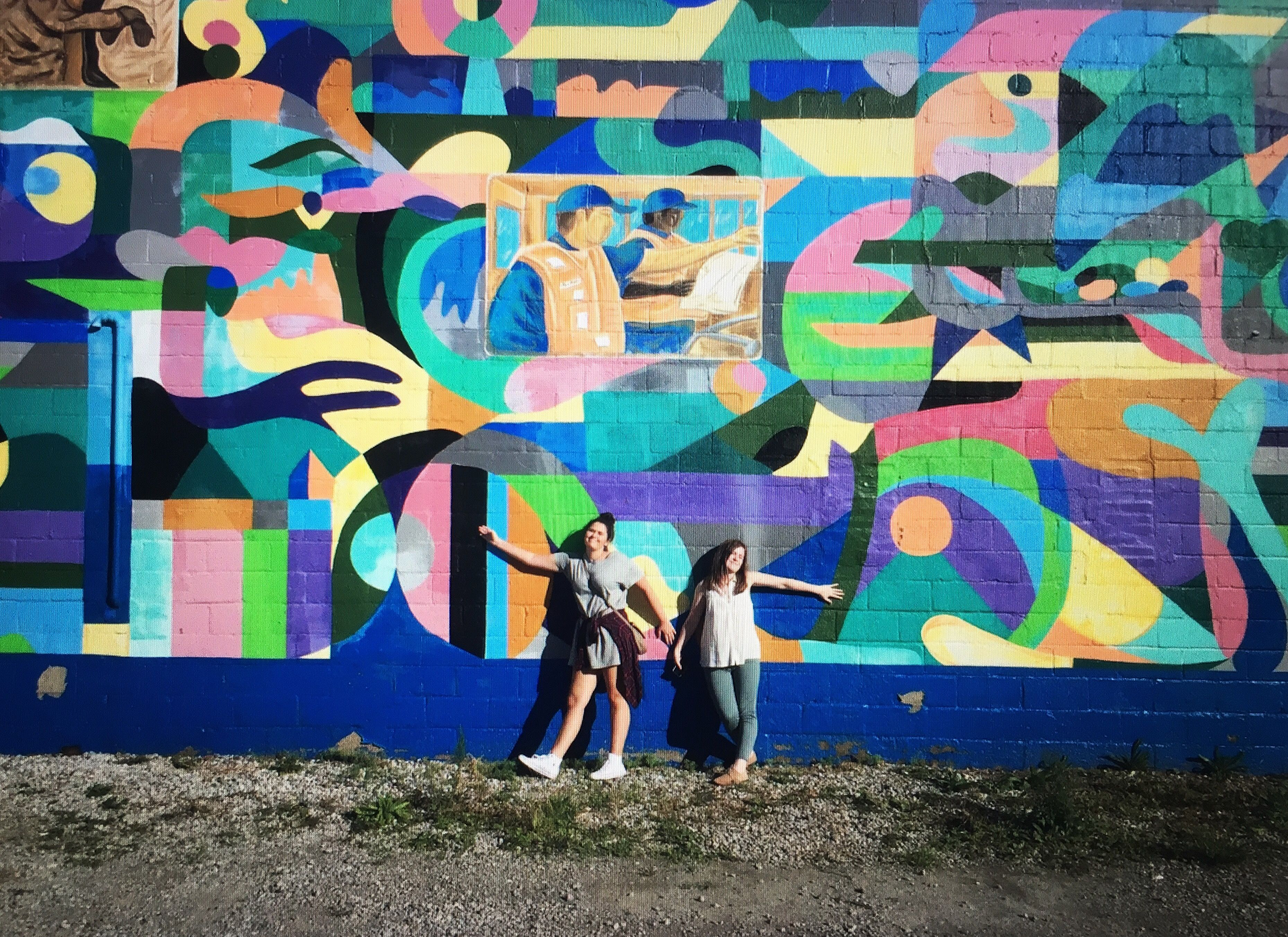 Mural in south side Pittsburgh