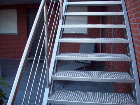 Best Exterior Staircase » Intec Inox Steel Stairs New Home 400 x 300