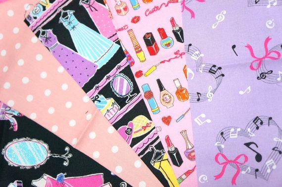 lolita fabric scrap si90 by beautifulwork on Etsy, $4.98