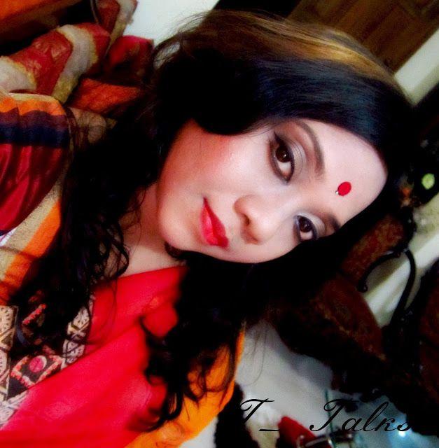 A Girls Life Tale Boishakhi Look Traditional