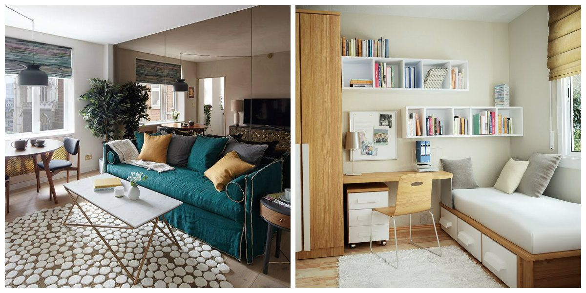 Small Room Interior All Tricks Of Successful Small Room Design Small Decorating Tips Home Small Room Interior Interior Design Trends 2017 Room Interior House design tips and tricks