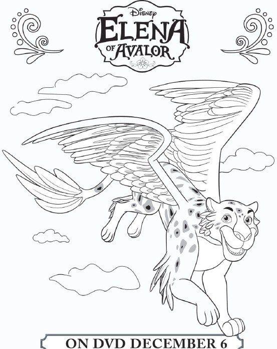 Elena Of Avalor Coloring Sheet Skylar Printable