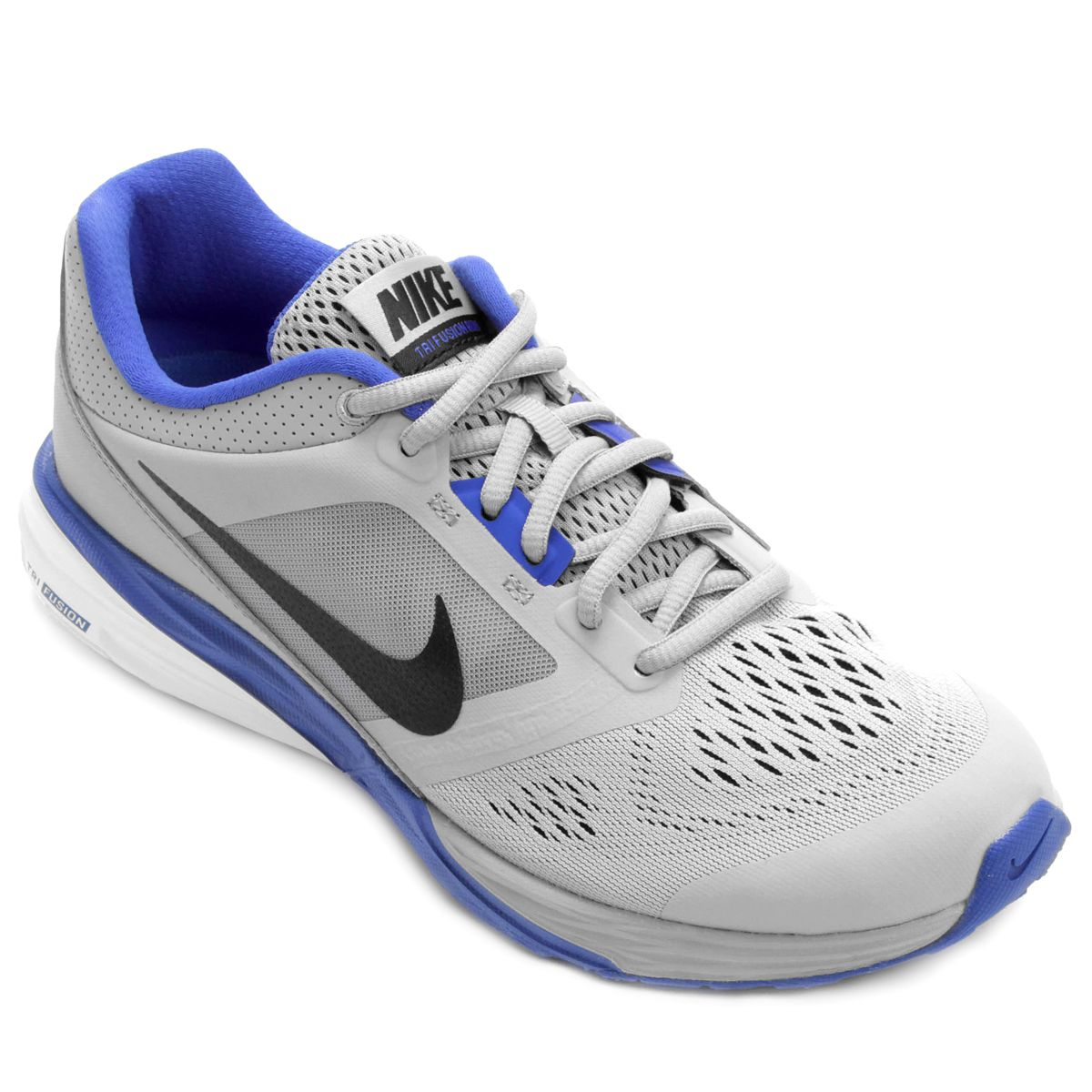 0050c1beec Tênis Nike Tri Fusion Run MSL Masculino - Azul e Cinza