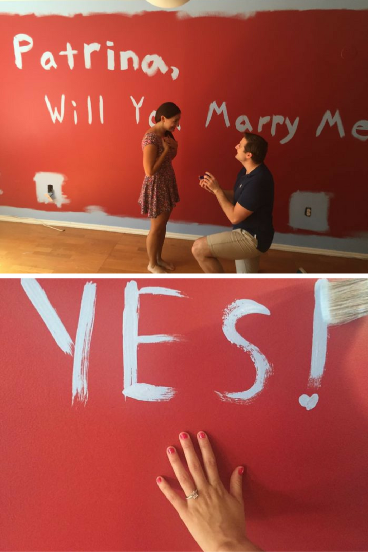 patrina and charlie's proposal on howheasked   perfect proposals