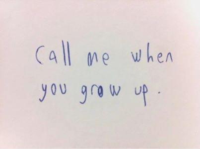 Just Grow Up | Nita and Me
