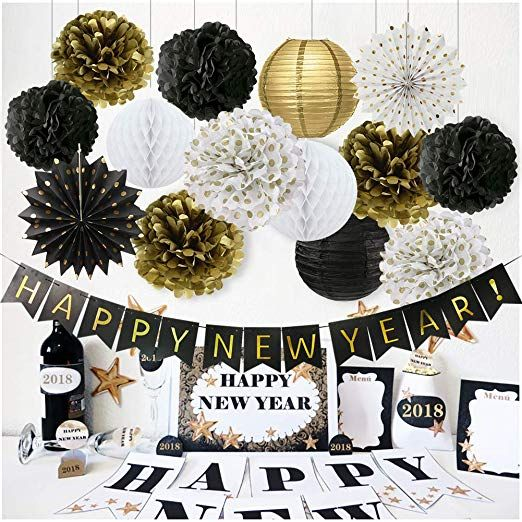 Happy New Year Decorations Happy New Year Banner Chinese Paper