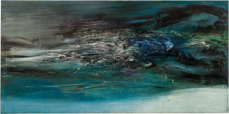 10 Things To Know About Zao Wou Ki Christie S Abstract Art