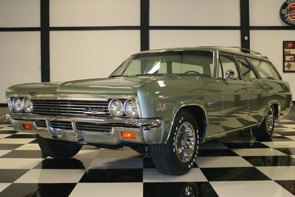 1966 Chevrolet Impala 427 Station Wagon Station Wagon Cars Classic Cars Old American Cars