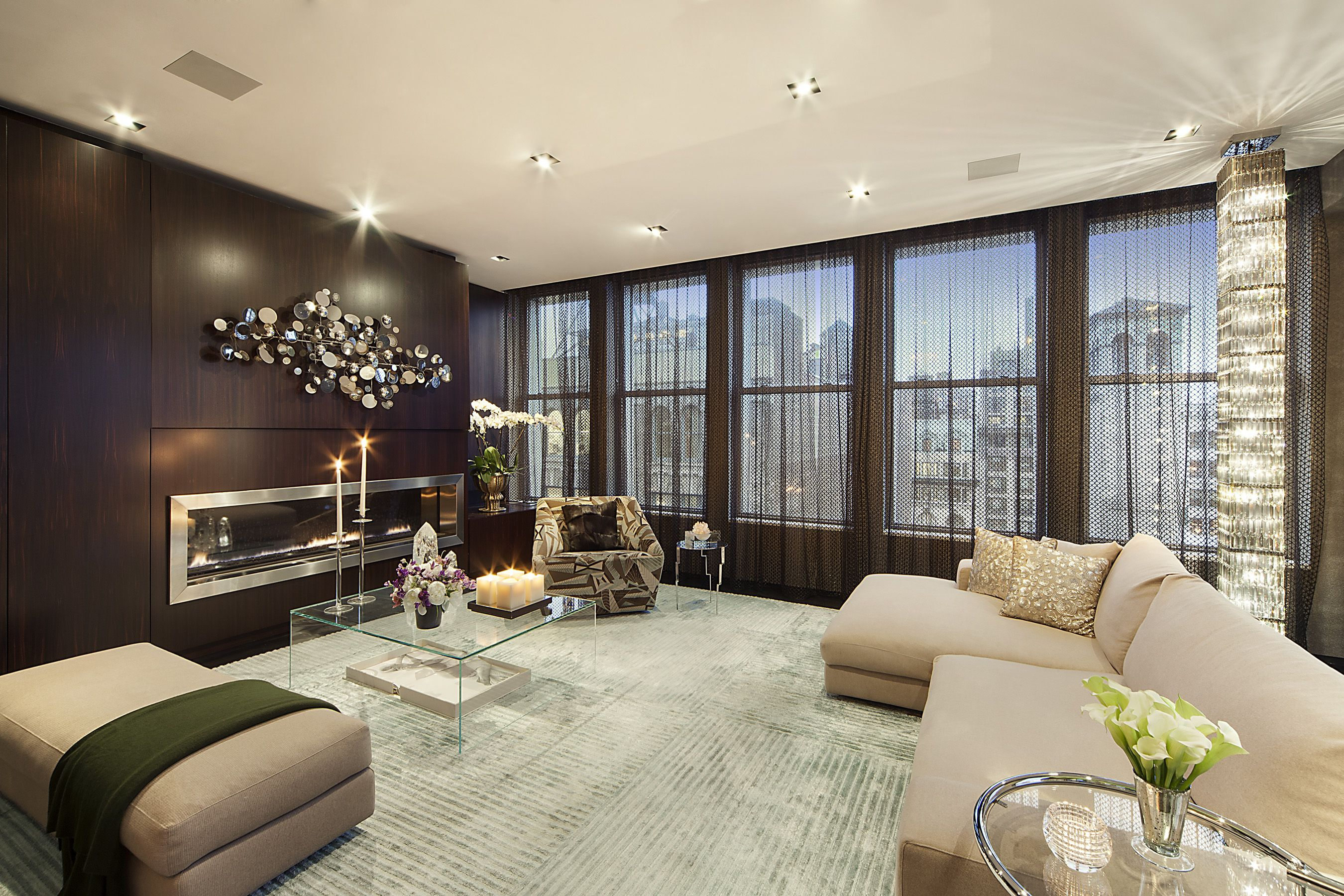 Cozy condo living rooms leverage lookbook  open house penthouses and living rooms