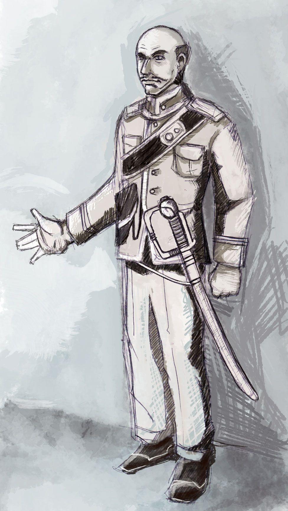 character design for Rizal's Noli Me Tangere | e-book art ...