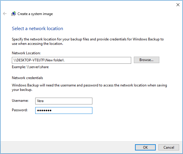 Fixed - The Drive Is Not a Valid Backup Location Windows 10/8/7