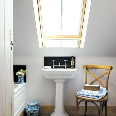 Small Bathroom Designs Slanted Ceiling small attic bathroom sloped ceiling - google search | upstairs