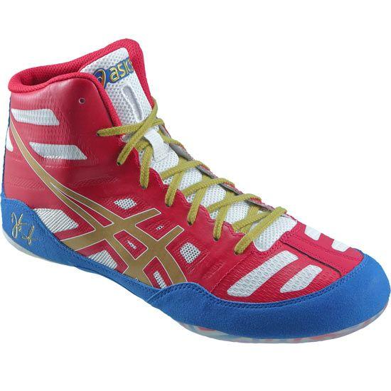 ASICS Jordan Burroughs JB Elite Wrestling Shoes- size 7.5 or 8 ... 6d664b179