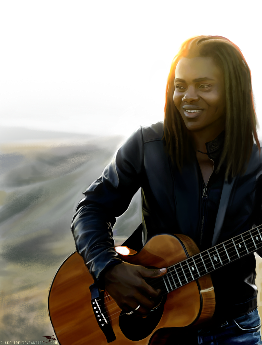 Tracy Chapman you write the music of my soul.