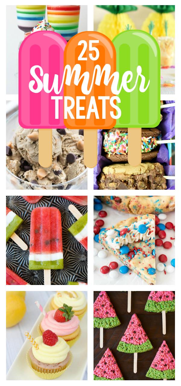 10 Fun Summer Desserts & Treats  Easy summer desserts, Summer