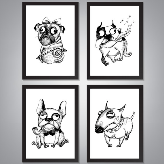 Décoration-mur de la maison Art-Funny par TimelessMemoryPrints