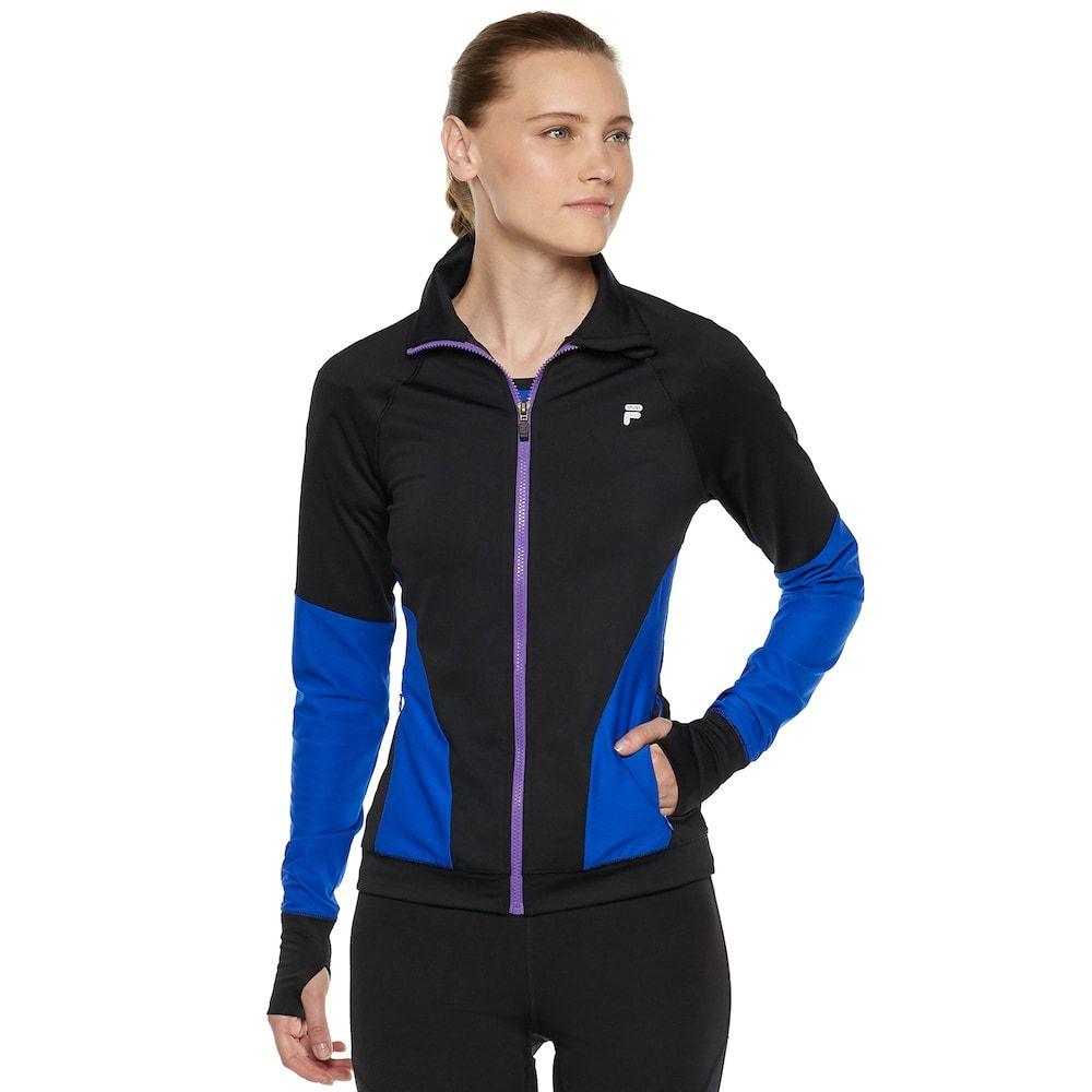 Women S Fila Sport Mesh Piecing Thumb Hole Jacket Thumb Hole Jackets Jackets Jacket Images [ 1000 x 1000 Pixel ]