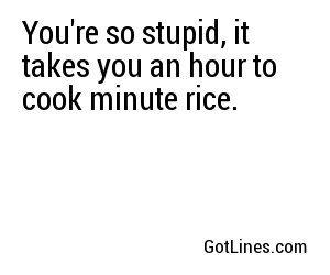 Jokes insults so dumb your Insult Jokes