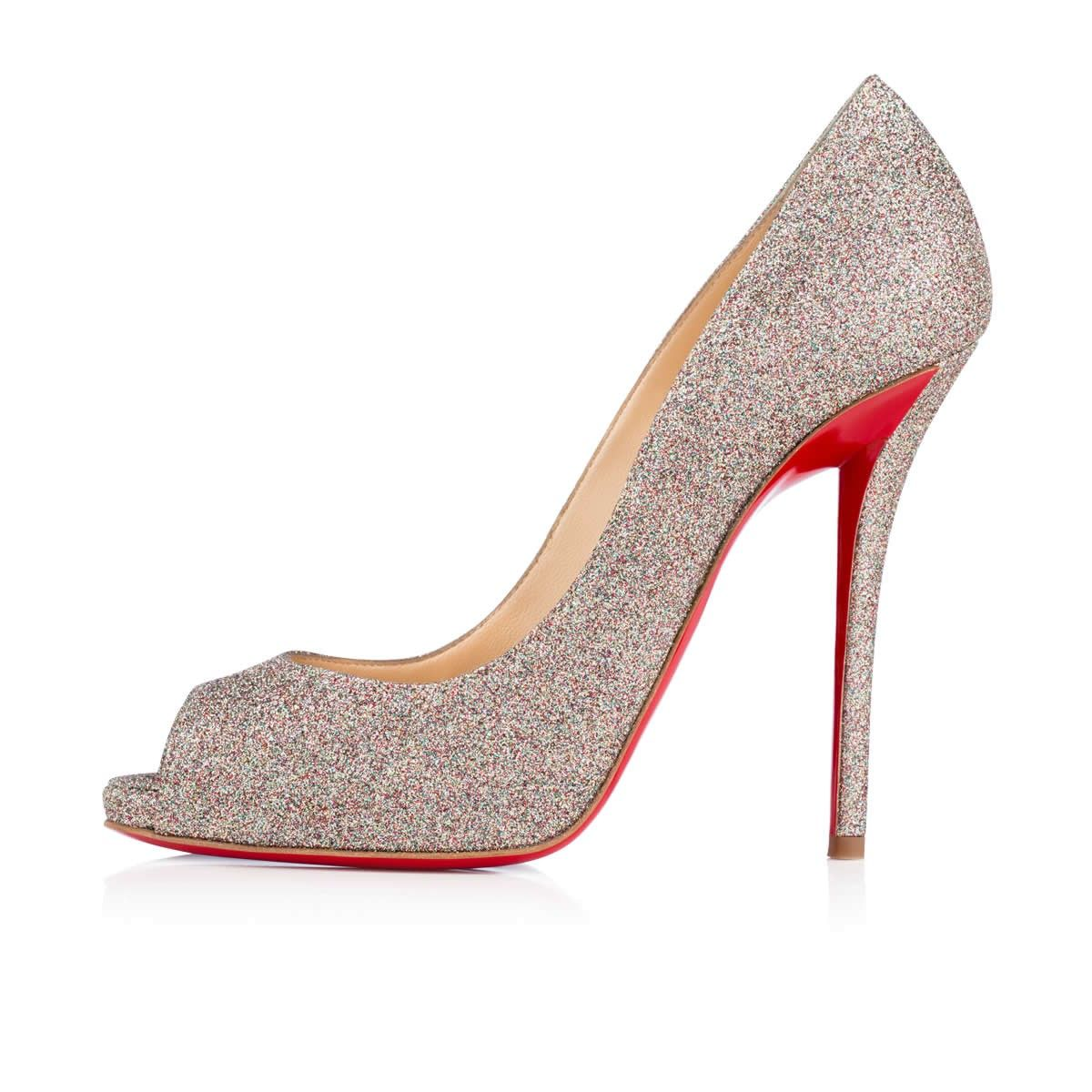91b5f7afd7 Christian Louboutin : Emmanuelle 120mm Multi Glitter Party Shoes, Perfect  Party, Winter Season,