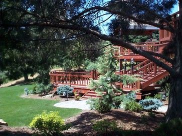 Traditional Home Multi Level Deck Design, Pictures, Remodel, Decor and Ideas - page 3