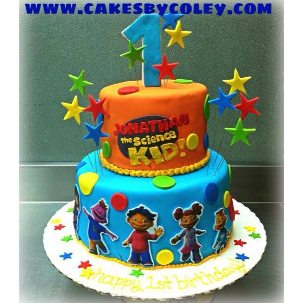 Sid the Science Kid Edible Birthday Party Decoration Cake Topper Cupcake Picks